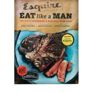 Esquire Eat Like A Man Book