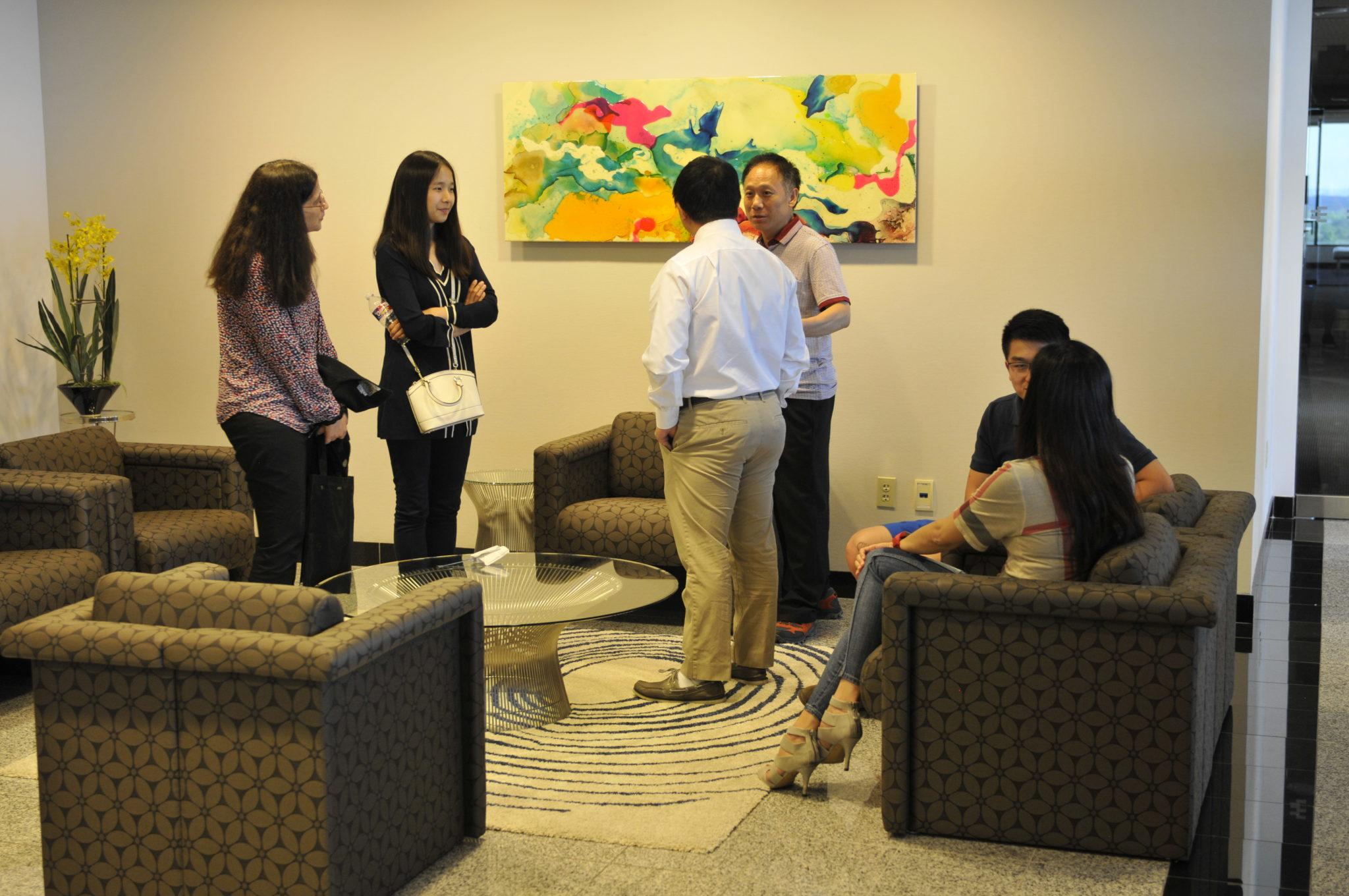 """<b>2016年""""杭州市创业环境暨海外创新创业大赛""""达拉斯推介会</b><br>"""
